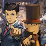 Los actores de Profesor Layton vs. Ace Attorney