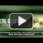 El tráiler de lanzamiento de Metal Gear Solid HD Collection