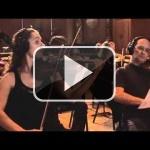 Grabando la versión orquestal de la música de Zelda