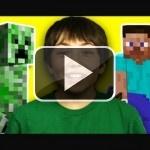 Cómo reaccionan los niños ante Minecraft