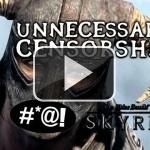 Censura innecesaria en Skyrim