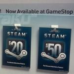 GameStop empieza a vender códigos para Steam