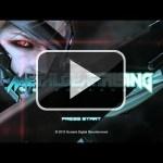 Esta es la pantalla de título de Metal Gear Rising: Revengeance