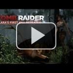 La primera víctima de Lara en este nuevo vídeo de Tomb Raider
