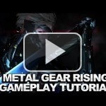 Unos minutos de gameplay de Metal Gear Rising: Revengeance