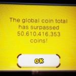 Se superan los 50.000 millones de monedas totales en New Super Mario Bros. 2