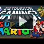 Aficionados a Super Mario, no os perdáis este vídeo lleno de curiosidades