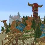 Un tipo ha reproducido un par de continentes de Azeroth en Minecraft