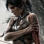 Así posa Lara en la portada del nuevo Tomb Raider