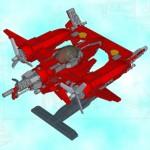 Así se hacen dos naves de Sine Mora con piezas de Lego