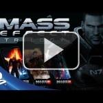 Así se presenta la trilogía Mass Effect al completo