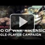 La primera media hora de God of War: Ascension, en este vídeo