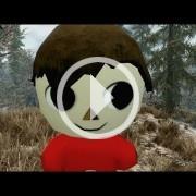 El Villager de Animal Crossing masacra Skyrim