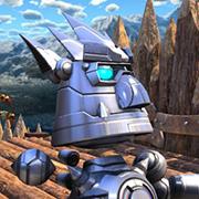 En estas imágenes de Knack se ve el personaje para el multijugador local