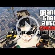 GTA Online: Autos de choque a muerte en la cima de un rascacielos