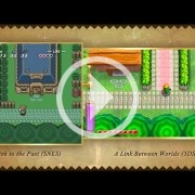 Este vídeo pone cara a cara A Link to the Past y A Link Between Worlds