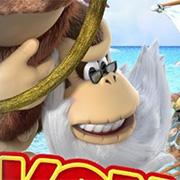 Cranky Kong se planta en la portada de Donkey Kong Country: Tropical Freeze