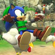 Así es el DLC de Zelda para Sonic Lost World
