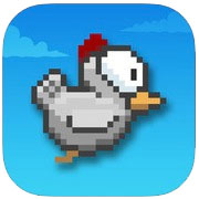 Tappy Chicken es el clon de Flappy Bird de Epic Games
