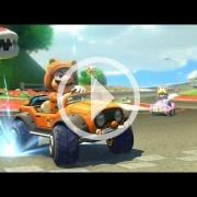 El Circuito Yoshi, uno de los elegidos para el DLC de Mario Kart 8
