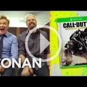 Conan O'Brien saca lo mejor de Call of Duty: Advanced Warfare
