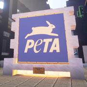 PETA inaugura su paraíso animal en Minecraft