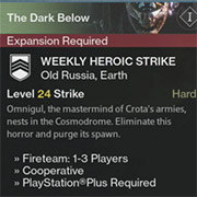 Necesitas la expansión de Destiny para poder jugar los asaltos de esta semana