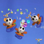 Estas nuevas imágenes de Yoshi's Woolly World solo se pueden describir con emojis