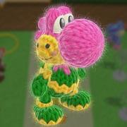 Nuevas imágenes de Yoshi's Woolly World