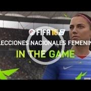 Primer tráiler de FIFA 16, que incluirá selecciones femeninas
