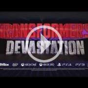 E3 2015: Transformers Devastation es lo nuevo de Platinum Games