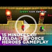 Quince minutos de Zelda: Tri Force Heroes