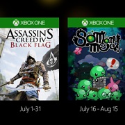 Los Juegos con Gold de julio incluyen Assassin's Creed IV y Gears of War 3