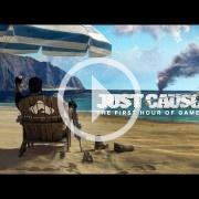 La primera hora de Just Cause 3 es tan loca como cabría esperar