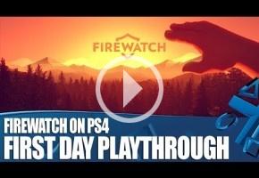Media hora larga de Firewatch, que llega la semana que viene
