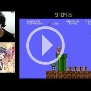 Super Mario Bros., terminado en 15 minutos y con los ojos vendados