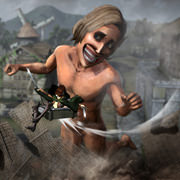 El nuevo gameplay de Attack on Titan es pequeño pero juguetón