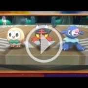 The Pokémon Company presenta los tres iniciales de Sol y Luna