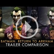 El vídeo de la comparativa gráfica de Batman: Return to Arkham es preocupante