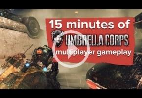 15 graciosísimos minutos de Umbrella Corps