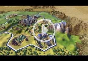 Civilization VI enseña sus ciudades expansivas