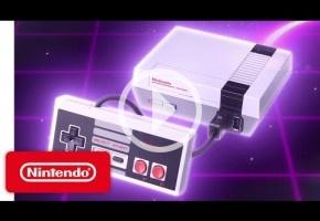 Nintendo publica un spot ultraochentero de su nueva Mini NES