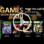Los Juegos con Gold de agosto son WWE 2K16, Spelunky y más
