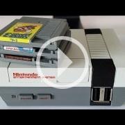 La Mini NES artesanal incluye cartuchos