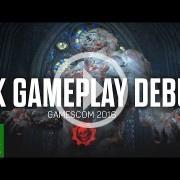 Gears of War 4 también se ha dejado ver en la gamescom