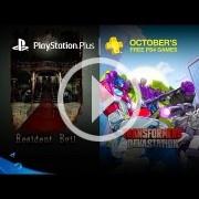 Resident Evil y Transformers: Devastation, los juegos para PS4 en el PlayStation Plus de octubre