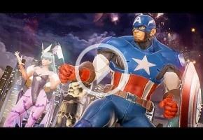 Primer gameplay de Marvel vs. Capcom: Infinite