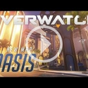 Overwatch presenta un nuevo mapa: Oasis