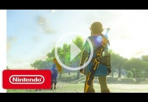 The Legend of Zelda: Breath of the Wild es uno de los juegos de lanzamiento de Switch
