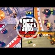 GTA V añade Tiny Racers, un nuevo modo de carreras en vista cenital